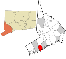 map of darien connecticut