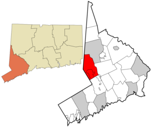 map of ridgefield ct